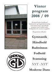 Gul folder 2008.indd - Lindknud