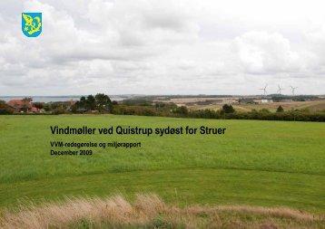 Vindmøller ved Quistrup sydøst for Struer - Struer kommune