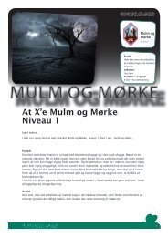 At X'e Mulm og Mørke Niveau 1