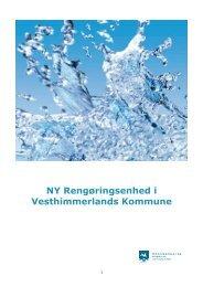 NY Rengøringsenhed i Vesthimmerlands Kommune - Aars Skole