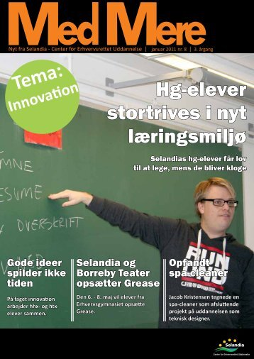 Hg-elever stortrives i nyt læringsmiljø - Selandia CEU