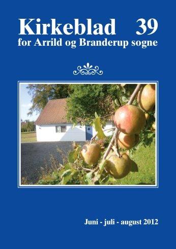 Kirkeblad 39 for Arrild og Branderup sogne Juni
