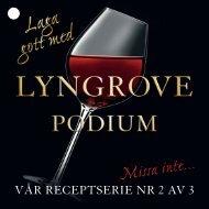 Recept till folder för Lyngrove - BBQtaste