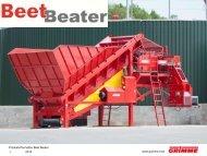 Produktinformation Beet Beater 2013 1 www.grimme.com - Agri Nord