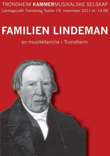 FAMILIEN LINDEMAN - Lindemans Legat