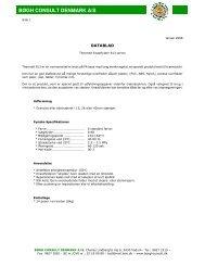 Datablad 813-serie - Bøgh Consult Denmark A/S