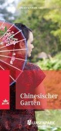 Programm des China-Kultursommers 2013 - Luisenpark