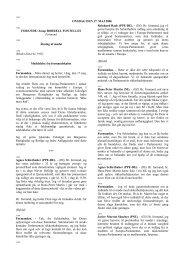 ONSDAG DEN 17. MAJ 2006 FORSÆDE: Josep BORRELL ...