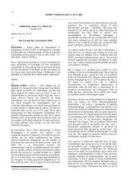 MØDET TORSDAG DEN 3. JULI 2003 - Europa