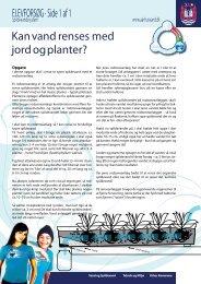 ELEVFORSØG · Side 1 af 1 Kan vand renses med ... - Aarhus Vand