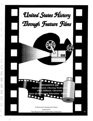 United States History through Feature Films curriculum - SABES