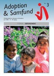 Juni - Adoption og Samfund