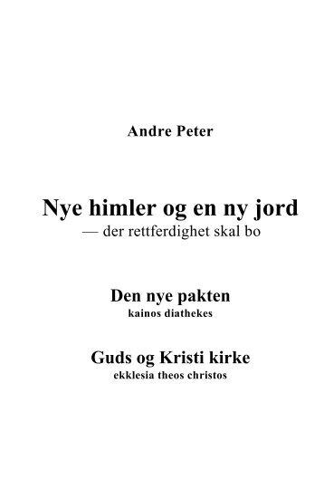 Se utdrag fra boken i PDF-format her - Guds og Kristi kirke