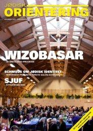 Jødisk Orientering november 2012 - Det Mosaiske Troessamfund