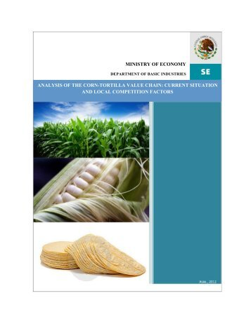ministry of economy analysis of the corn-tortilla value chain