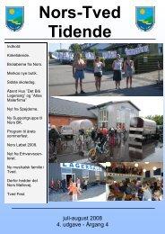 Nors-Tved Tidende - juli-aug 2008 - Norsby.dk