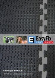 Catalogue 2011-2012 - EasyFix Rubber - Homepage