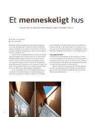 Et menneskeligt hus (pdf-fil) - Lethtext
