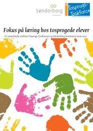 Fokus på læring hos tosprogede elever - Havnbjerg Skole