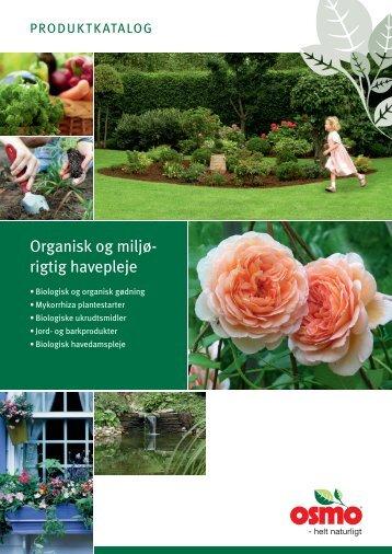 Organisk og miljø- rigtig havepleje - OSMO
