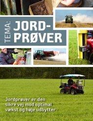 Hent tema om jordprøver - Jysk Landbrugsrådgivning
