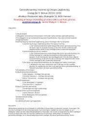Dagsorden til generalforsamlingen 2013 - Hammel og Omegns ...
