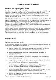 Årsplan - IT støttet undervisning