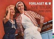 Download Salgskatalog 2010-2011 - Forlaget Klim