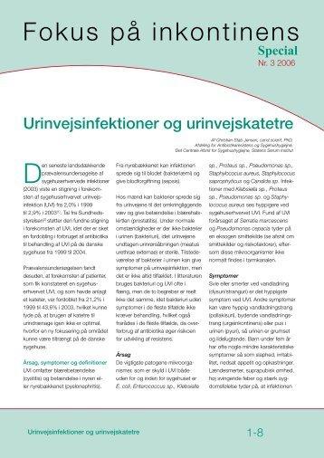 Urinvejsinfektioner og urinvejskatetre - Coloplast