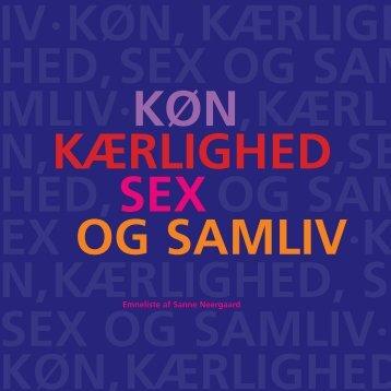 Køn, kærlighed, sex og samliv