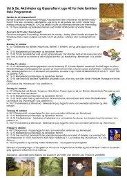 Download programmet som pdf-fil i dette link - Vodder Sogn