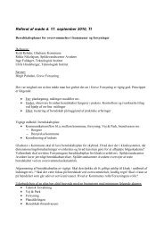 Referat Beredskabsplaner - Planlægning 170910 - Vand i Byer