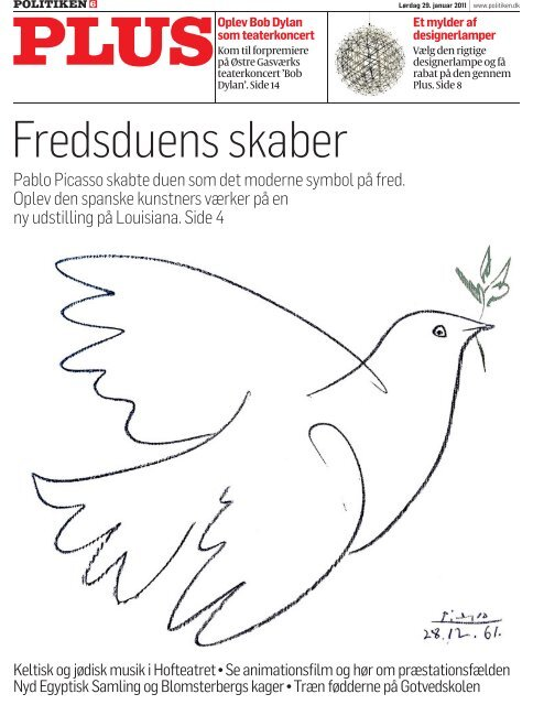 Pablo Picasso skabte duen som det moderne ... - Politiken Plus