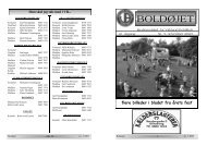 master nov 2003 - Virklund Boldklub