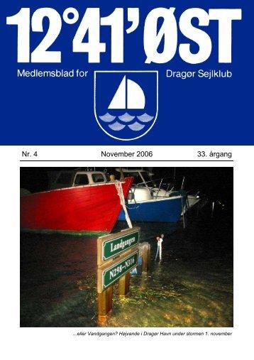 November 2006 - Dragør Sejlklub
