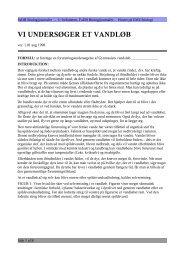 Vi undersøger et vandløb (forsøg pdf) - Emu