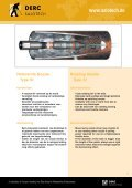 Roterende nozzles Rotating nozzles - Salotech - Page 7
