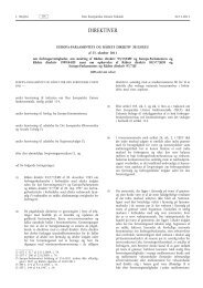Europa-Parlamentets og Rådets direktiv 2011/83 ... - Justitsministeriet