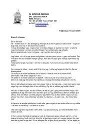 Tale til sommerafslutning 2004 - N. Kochs Skole