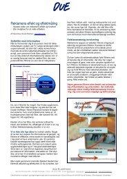 Reklamens effekt & effektmåling - Due & Partners