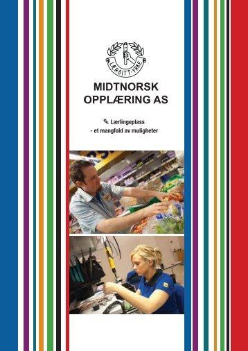 Lærlingeplass - et mangfold av muligheter - Midtnorsk Opplæring