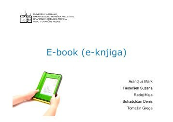 E-book (e-knjiga) - Univerza v Ljubljani