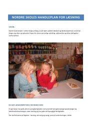 Handleplan for læsning - Nordre Skole