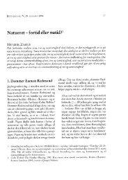 Naturret -fortid eller nutid?1 - Retfærd