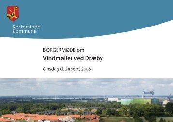 Borgermøde om vindmøller ved Dræby (PDF 2 MB) - Vattenfall