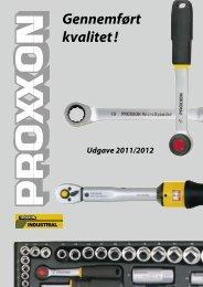 Katalog over top- og fastnøgler - BROMMANN ApS