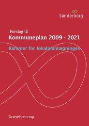 Kommuneplanrammer 2009 - Sønderborg Kommune