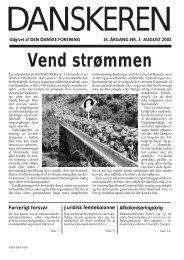 Danskeren nr. 3 - 2002 - Den Danske Forening