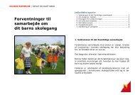 Forventninger til samarbejde om dit barns ... - Solrød Kommune