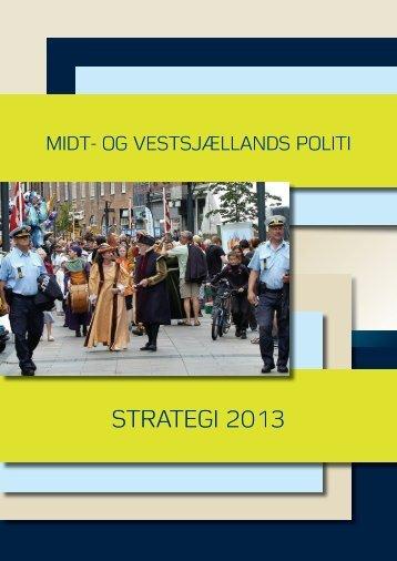 Strategiplan 2013 - Politi